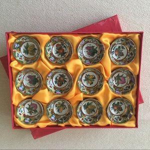 Ceramic designed Sake Cups